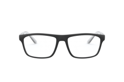 ARMANI EXCHANGE FRAME FOR UNISEX RECTANGLE BLACK AND WHITE - AX3073 8078