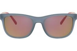 نظارة شمسية ARMANI EXCHANGE للرجال و النساء مربع لون رمادي و أحمر - AX4103S 8327-6Q