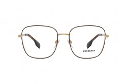 BURBERRY FRAME FOR UNISEX SQUARE TIGER AND GOLD - BE1347 1308