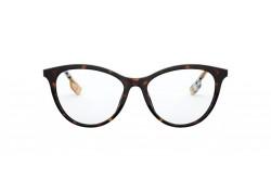 نظارة طبية BURBERRY للنساء كات أي لون نمري - BE2325 3903