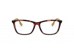 نظارة طبية BURBERRY للنساء مربع لون نمري - BE2326 3890