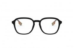 نظارة طبية BURBERRY للرجال مربع لون أسود و فضي - BE2327 3001