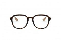 نظارة طبية BURBERRY للرجال مربع لون نمري و ذهبي - BE2327 3002