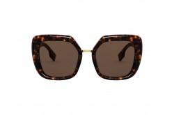 نظارة شمسية BURBERRY للنساء مربع لون نمري - BE4315 3002-73