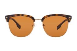 نظارة شمسية BURBERRY للرجال مربع لون نمري - BE4317 3002-73