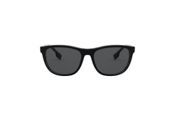 نظارة شمسية BURBERRY للرجال مربع لون أسود - BE4319 3001-87