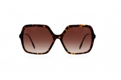 BURBERRY SUNGLASSES FOR WOMEN SQUARE TIGER AND GOLD - BE4324 3002-13