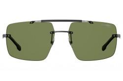نظارة شمسية CARRERA للرجال مربع لون رمادي غامق - 8034S KJ1UC