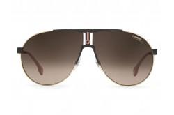 CARRERA SUNGLASS For Men aviator black and gold - CA1005S 2M2HA