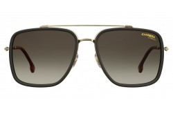 CARRERA SUNGLASS FOR MEN SQUARE GOLD - CA207/S  AU2/HA