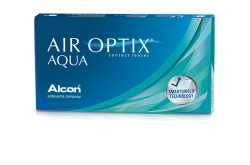 AIR OPTIX MOMTHLY CONTACT LENSES - 6 LENSES IN BOX