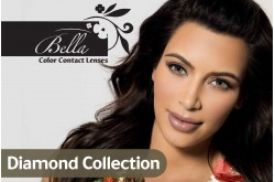 BELLA CONTACT LENSES DIAMOND COLLECTION - 2 LENS IN BOX