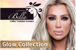 BELLA GLOW COLLECTIONS MONTHLY CONTACT LENSES - 2 LENS IN BOX