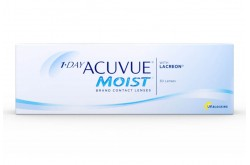 ACUVUE MOIST DAILY CONTACT LENSE  - 30 LENS IN BOX