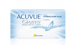ACUVUE OASYS WEEKLY CONTACT LENSES  - 6 LENSES IN BOX