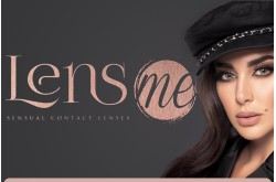 LENS ME MONTHLY CONTACT LENSES WITH POWER