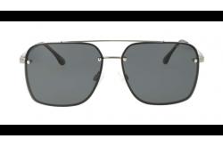 نظارة شمسية  DESPADA  للرجال مربع لون أسود و فضي - DS1954 3