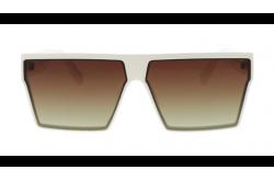 نظارة شمسية DESPADA للرجال ستطيل لون أبيض - DS2000 C4