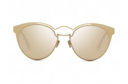 DIOR SUNGLASS FOR WOMEN ROUND GOLD - DIORNEBULA  DDBSQ
