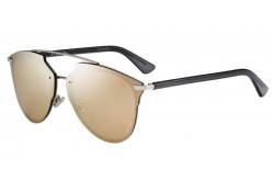 DIOR SUNGLASS FOR WOMEN AVIATOR GOLD AND GREY - DIORREFLECTEDP 010SQ