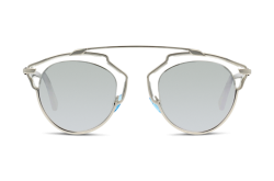 DIOR SUNGLASS FOR WOMEN AVIATOR SILVER AND BLACK - DIORSOREAL APPDC