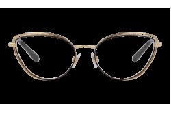 نظارة طبية DOLCE&GABBANA للنساء كات أي لون أسود و ذهبي - DG1326 1344