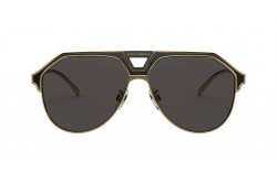 DOLCE&GABBANA SUNGLASS FOR MEN AVIATOR GOLD BLACK - DG2257 133487