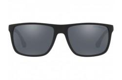 EMPORIO ARMANI SUNGLASS FOR MEN SQUARE BLACK - EA4033 5649/6Q