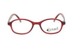 نظارة طبية EXACT للأطفال دائري لون أحمر - 55  13