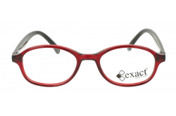 نظارة طبية EXACT للأطفال دائري لون أحمر و أسود - 55 19