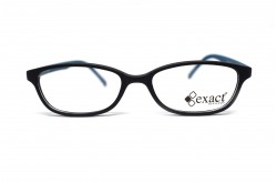 EXACT FRAME FOR KIDS RECTANGLE BLACK AND BLUE - 58  53