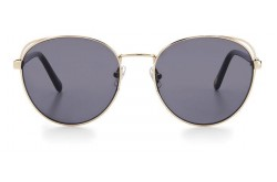 FOSSIL SUNGLASSES FOR WOMEN ROUND GOLD AND BLACK - FOS2107GS 3YGIR