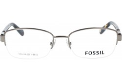 FOSSIL FRAME FOR WOMEN RECTANGLE SILVER AND TIGER - FOS7058G 09Q