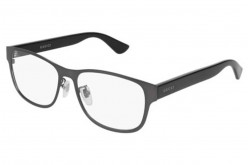 GUCCI FRAME FOR UNISEX RECTANGLE GREY - GG0007O 005