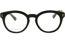 GUCCI FRAME FOR UNISEX ROUND BLACK - GG0185O 005