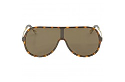 GUCCI SUNGLASS FOR UNISEX MASK GOLD - GG0199S  003