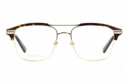 GUCCI FRAME FOR UNISEX SQUARE GOLD AND TIGER - GG0241O