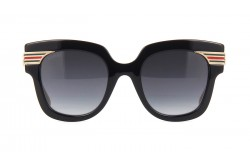 GUCCI SUNGLASS FOR WOMEN SQUARE GOLD - GG0281S  001