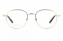 GUCCI FRAME FOR UNISEX ROUND GOLD AND TIGER - GG0392O  002