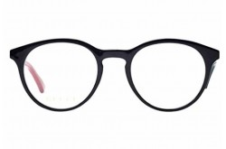 GUCCI FRAME FOR MEN ROUND BLACK AND RED - GG0406O  003