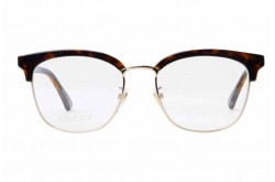 GUCCI FRAME FOR UNISEX CAT EYE GOLD AND TIGER - GG0409OK  002