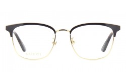 GUCCI FRAME FOR UNISEX CAT EYE GOLD AND TIGER - GG0413OK  002