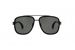GUCCI SUNGLASS FOR MEN SQUARE BLACK - GG0448S  001