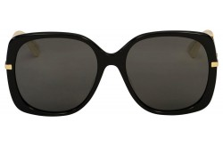 GUCCI SUNGLASS FOR WOMEN BUTTERFLY BLACK AND GOLD - GG0511S 001