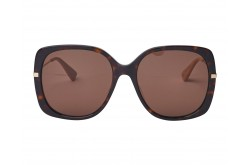 GUCCI SUNGLASS FOR WOMEN BUTTERFLY TIGER AND GOLD - GG0511S 003
