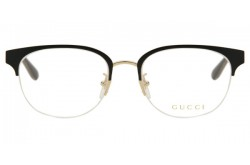 GUCCI FRAME FOR WOMEN CAT EYE BLACK AND GOLD - GG0531OA 001