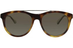 GUCCI SUNGLASS FOR UNISEX ROUND TIGER - GG0559S 002