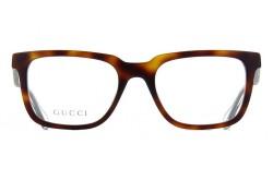 نظارة طبية GUCCI للرجال مربع لون نمري  - GG0560O 002