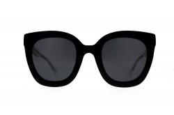 نظارة شمسية GUCCI  للنساء كات أي لون اسود - GG0564S 001
