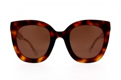 GUCCI SUNGLASS FOR WOMEN SQUARE BROWN - GG0564S 002